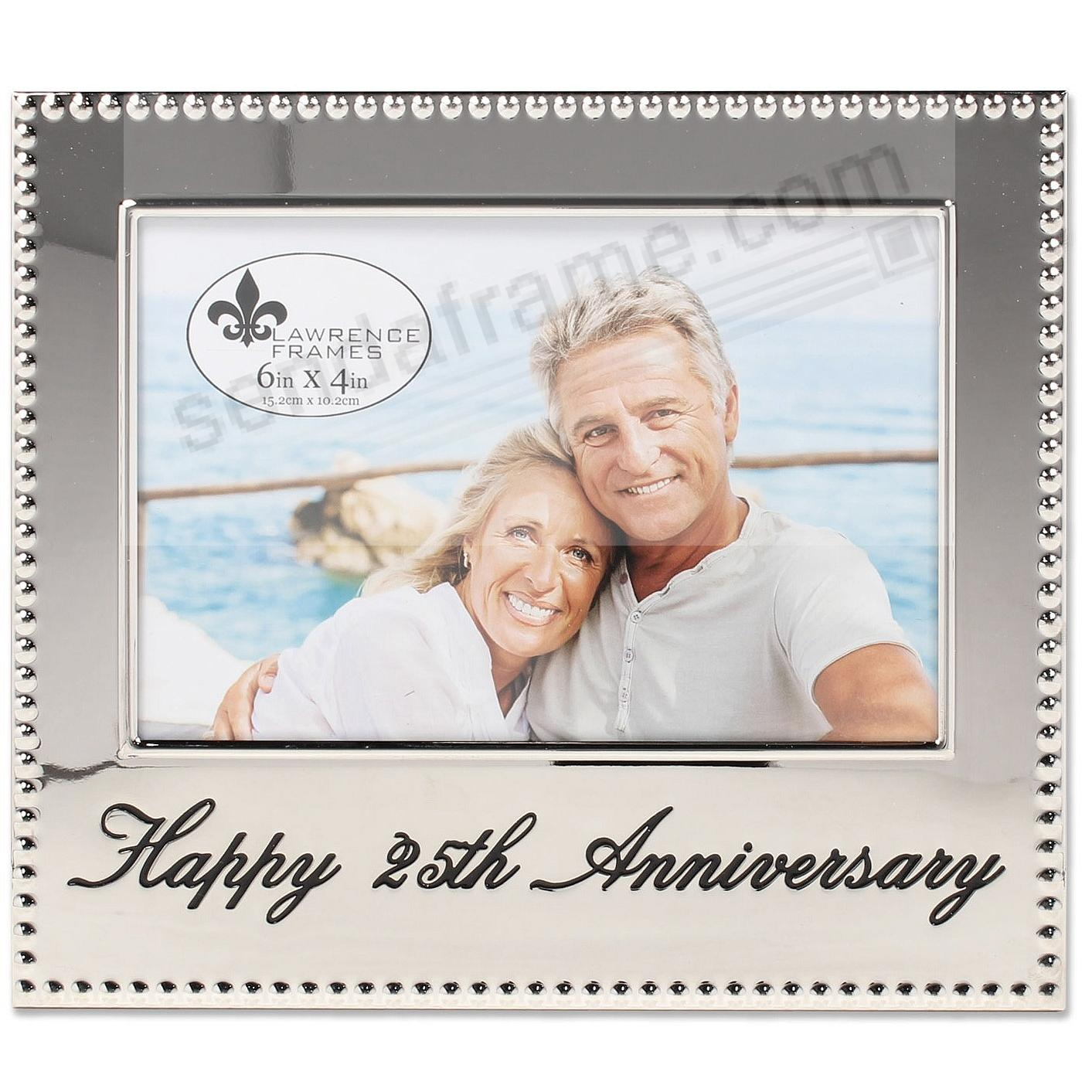 HAPPY 25th ANNIVERSARY special engraved celebration frame - Picture ...