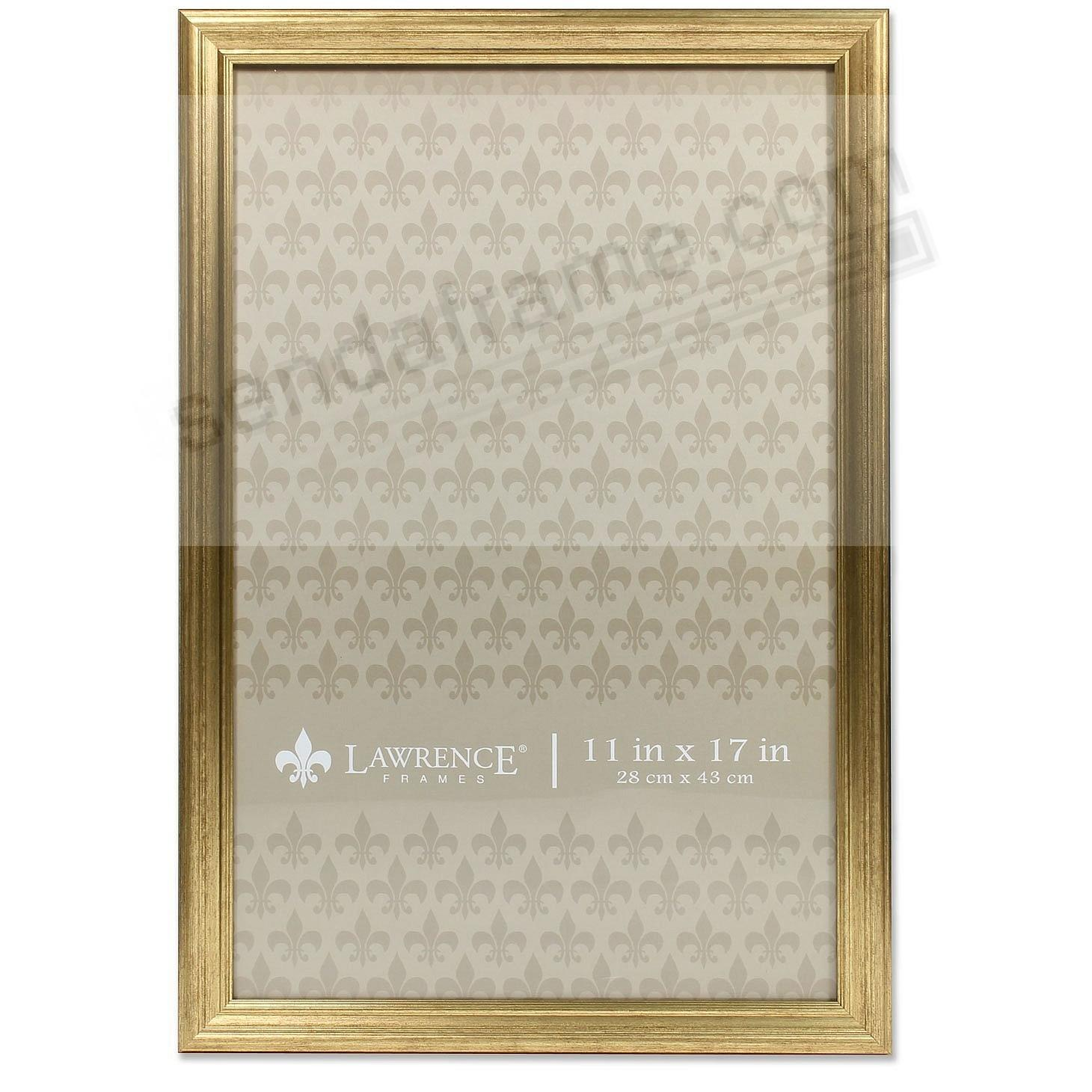 SUTTER Burnished Gold composite-wood 8x10 frame by Lawrence ...
