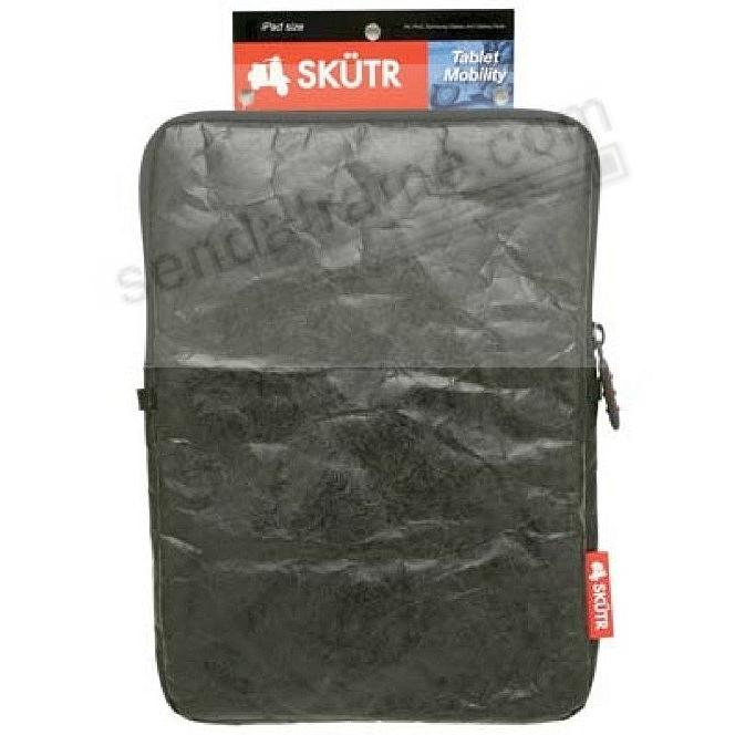 SKÜTR® e-Reader SOFT 6x8 Mini-Tech Pouch - Black Tyvek®