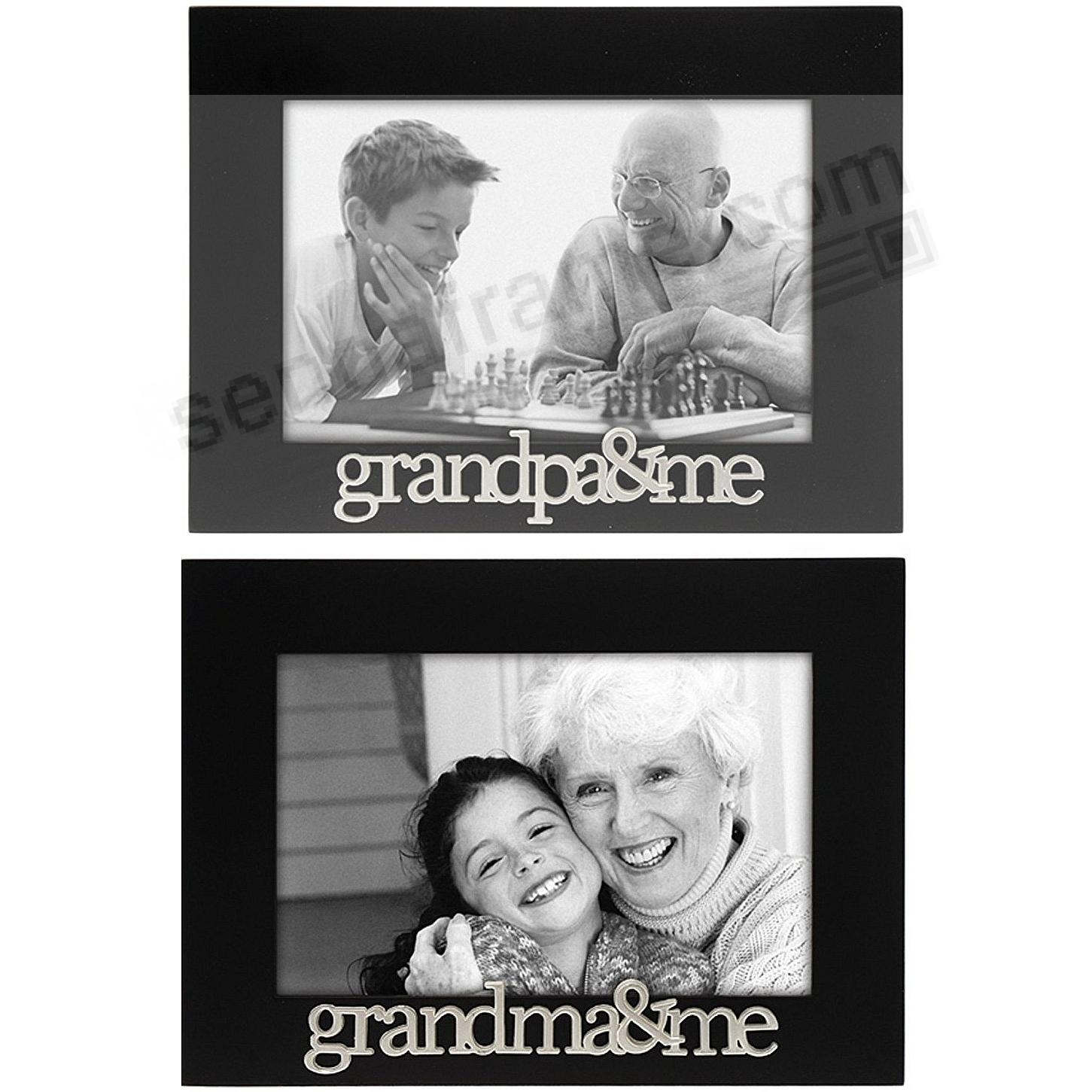 GRANDPA + ME / GRANDMA + ME Back frames (2) - Picture Frames, Photo ...
