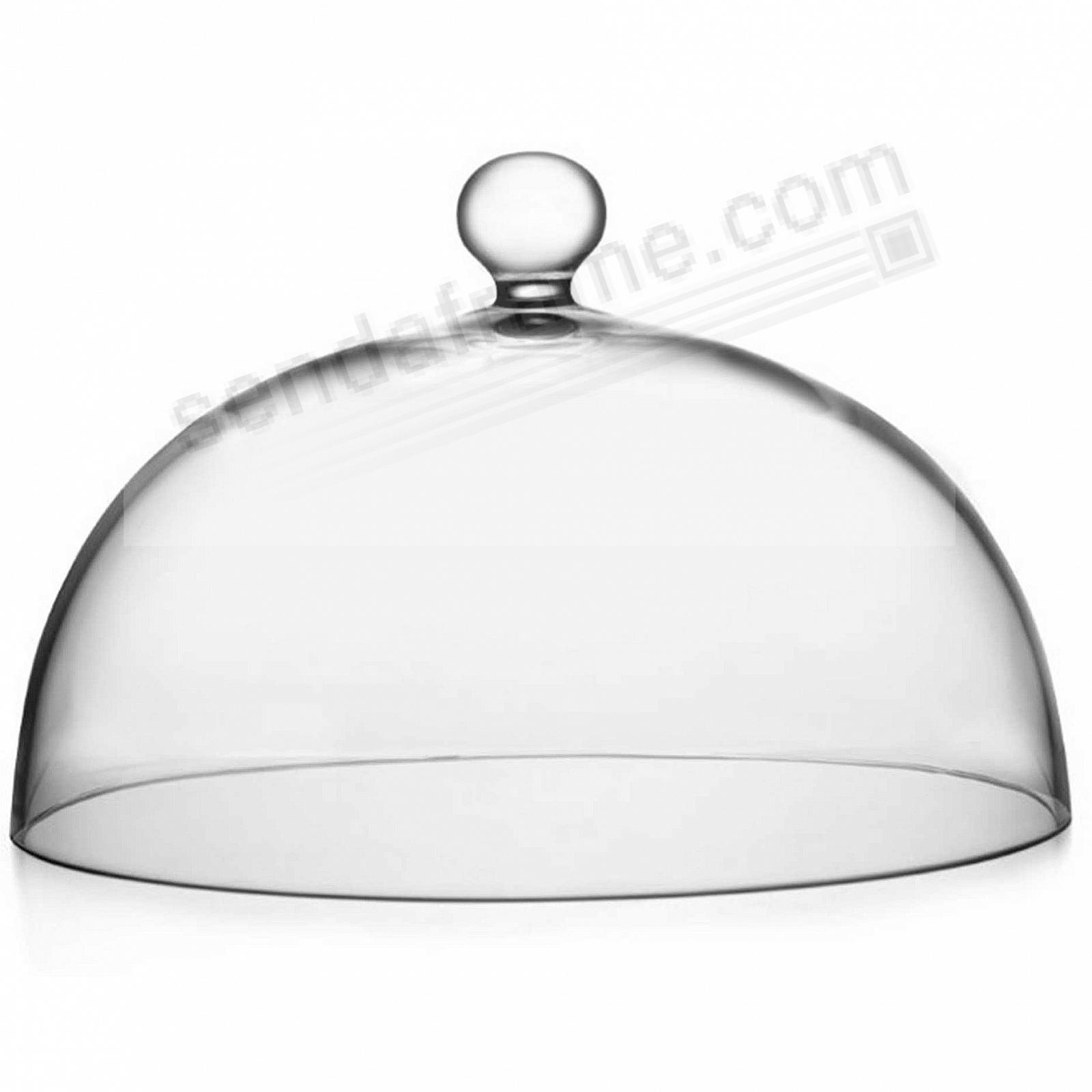 The MODERNE GLASS 11-inch CAKE DOME by Nambe®