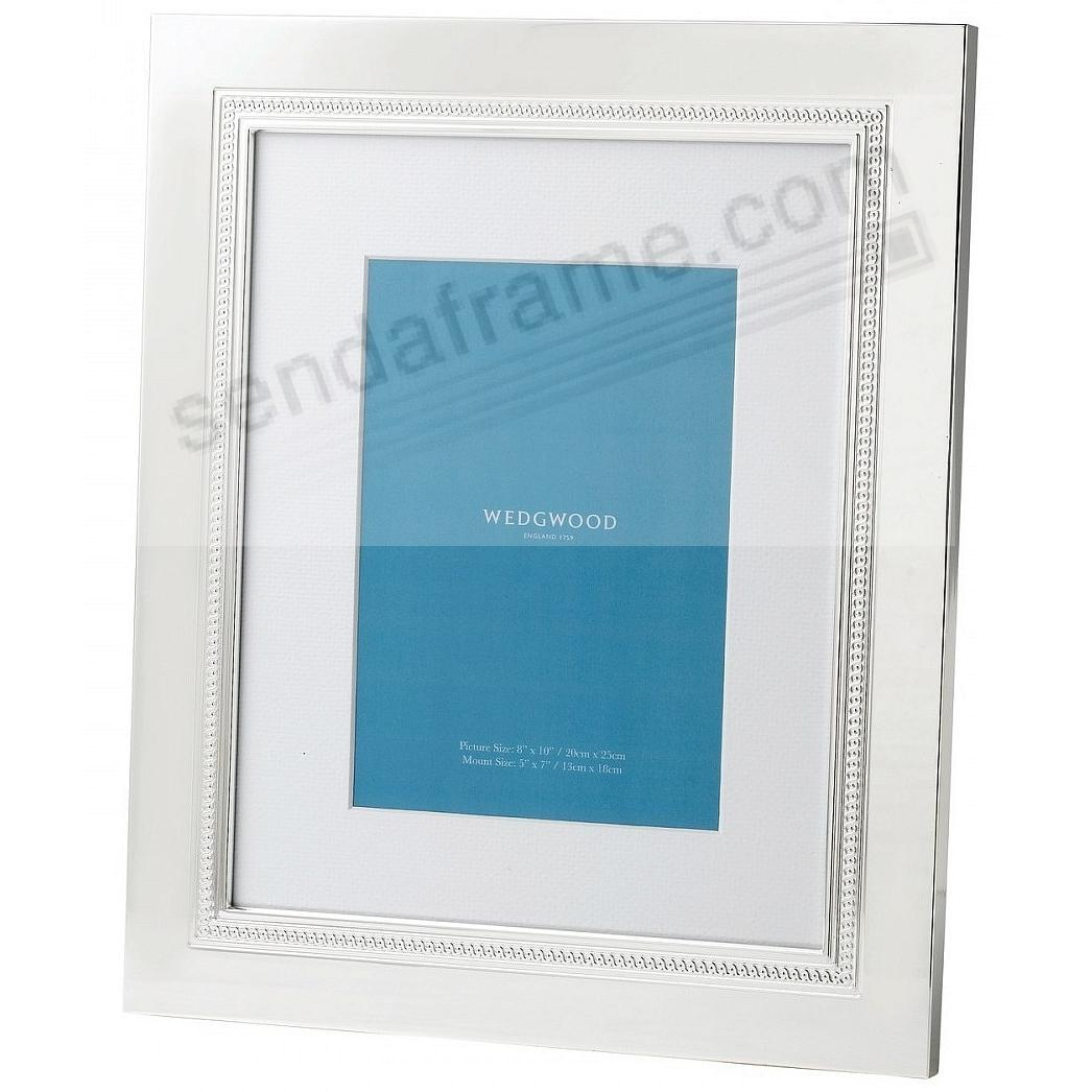 SIMPLY WISH SILVER 8x10/5x7 frame by Wedgwood®