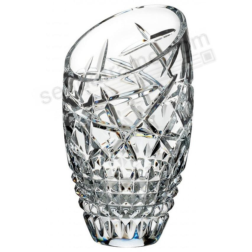 The Fleurology CLEO 10-inch SLANT Vase by Waterford®