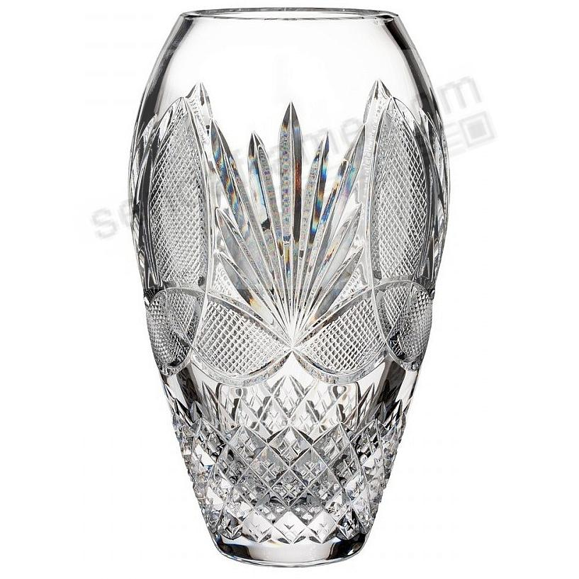 House of Waterford® 9-in Crystal Vase WITH LOVE FROM IRELAND