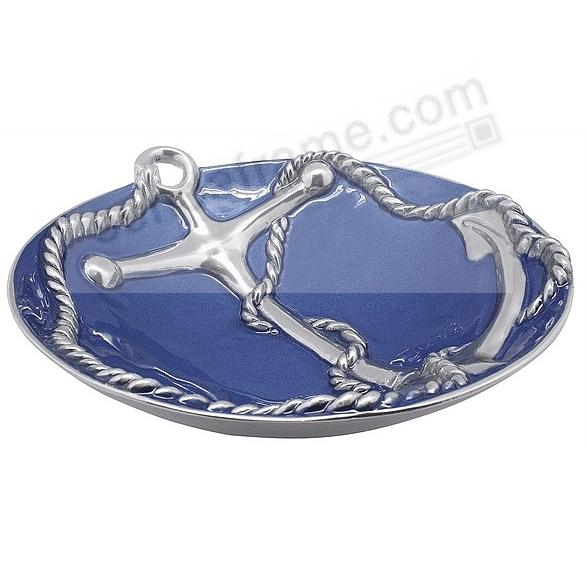 COBALT LARGE ANCHOR BOWL by Mariposa®