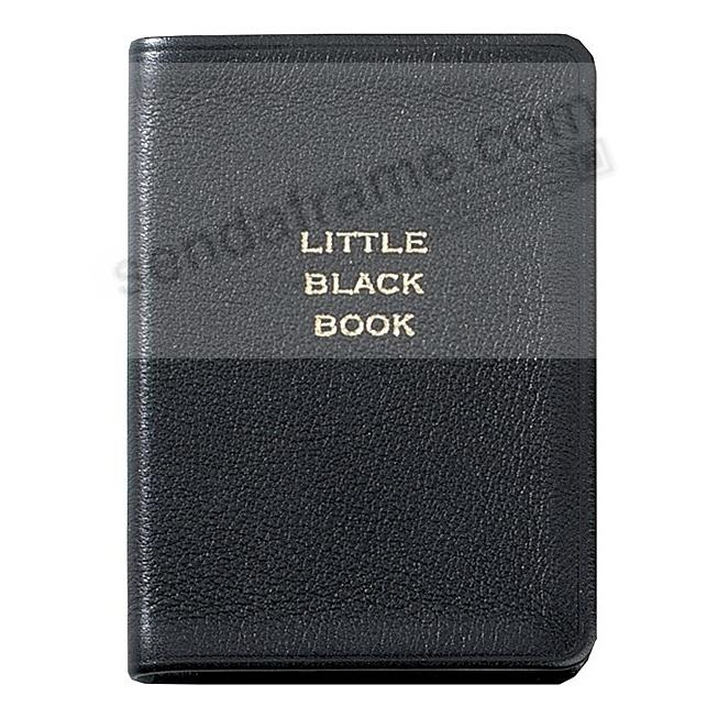 The LITTLE BLACK BOOK Pocket Fine Leather by Graphic Image™
