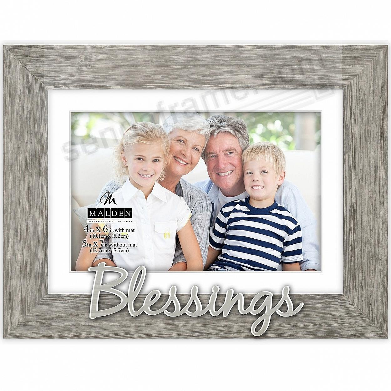 BLESSINGS - A special Expressions frame 5x7/4x6
