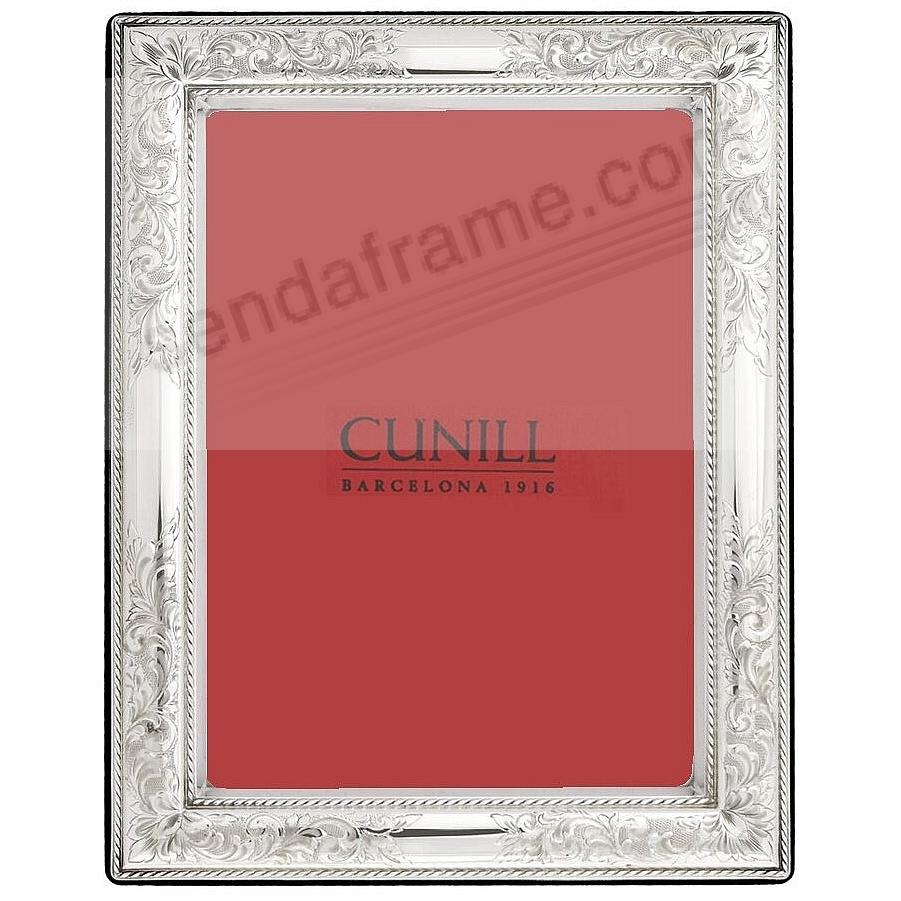 VINTAGE Pure Sterling Silver luxe 2x3 frame<br>by Cunill&reg; Italy