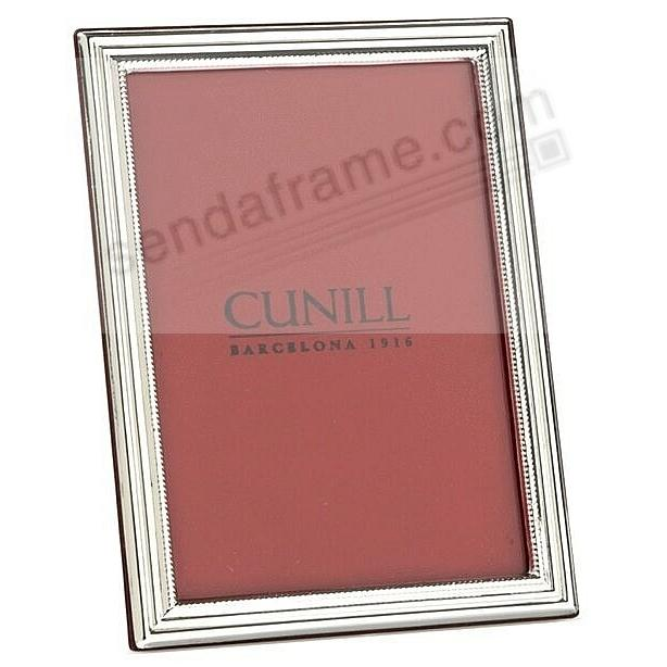 The Cunill® CLASSIC Fine Sterling Silver 4x6 frame