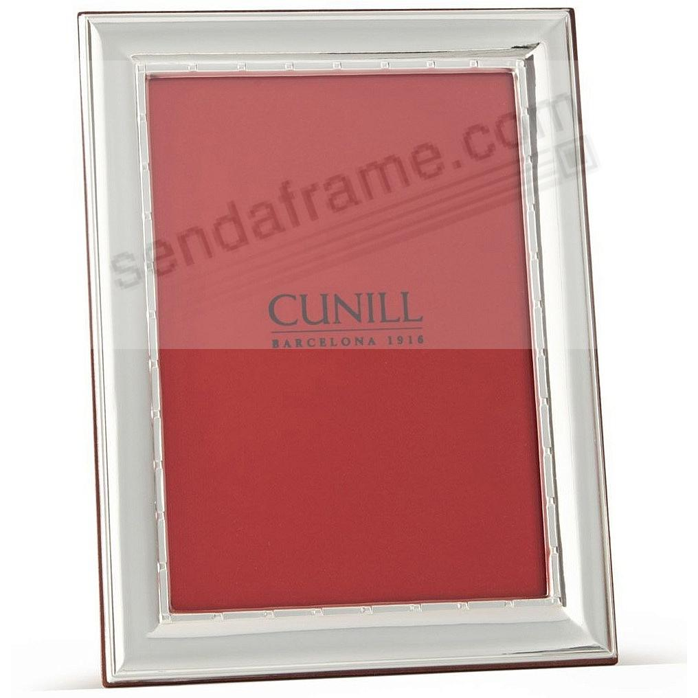 The 5000 Series fine Sterling Silver Frame by Cunill®