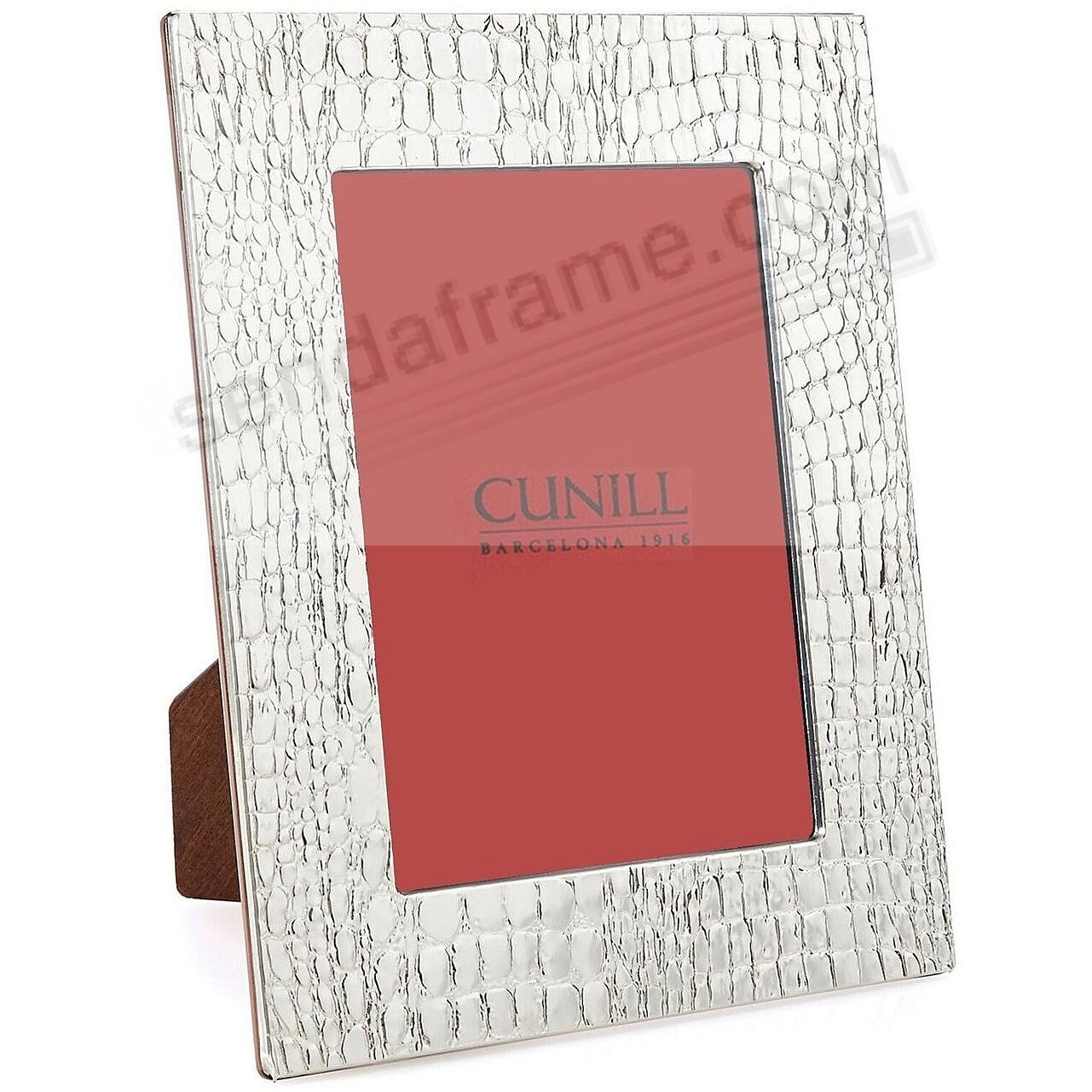 The GLADES Series fine Sterling Silver 8x10/7x9 Frame by Cunill®