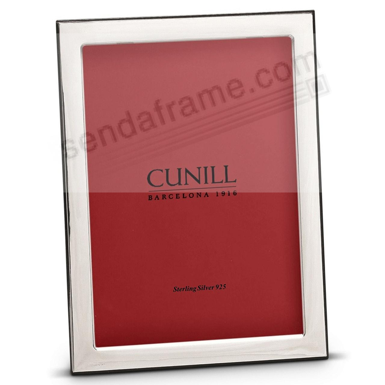 OXFORD Fine Sterling Silver 4x6 frame by Cunill® Italy