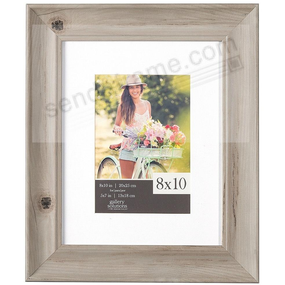 WHITE-WASH SCOOP Wall Frame Matted 8x10/5x7 by Gallery Solutions ...