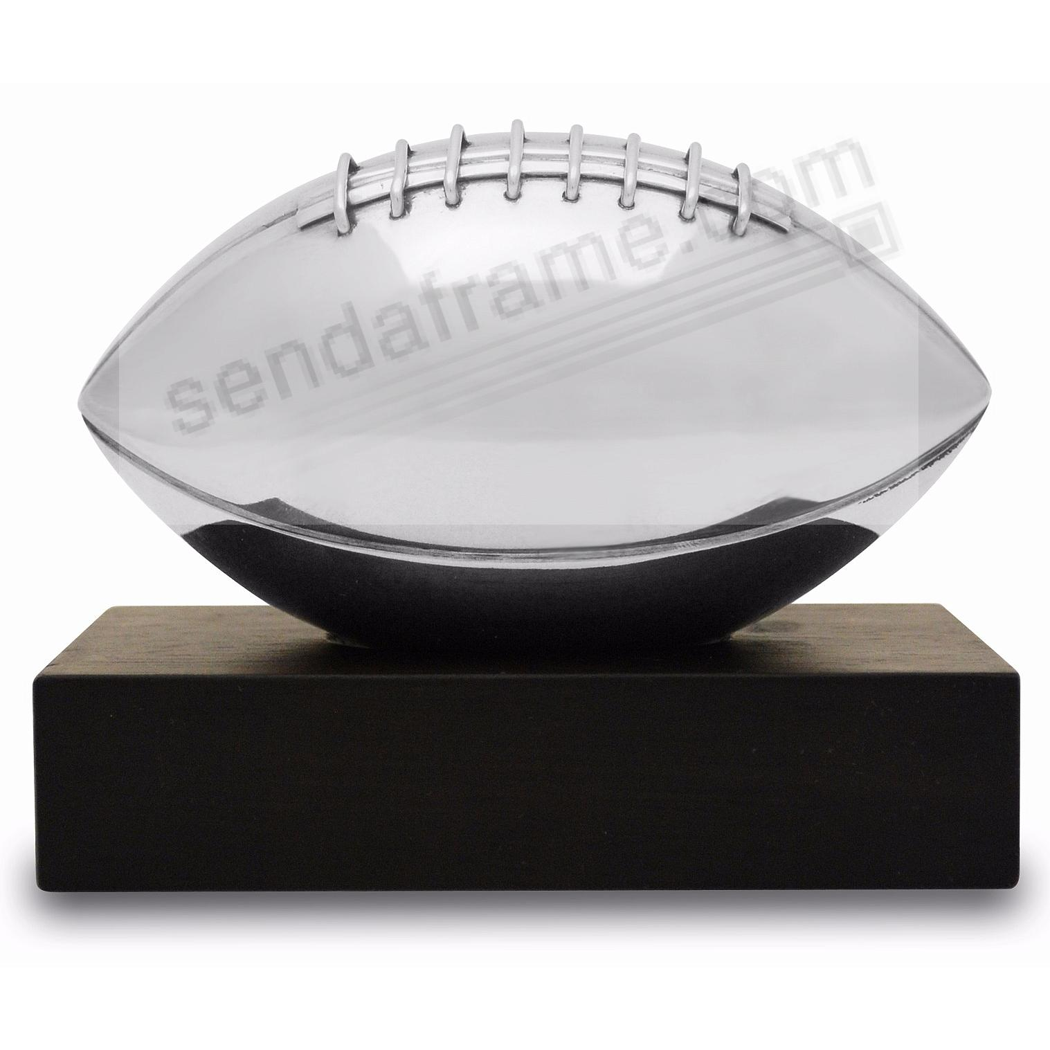 The Original FOOTBALL TROPHY crafted by Nambe®