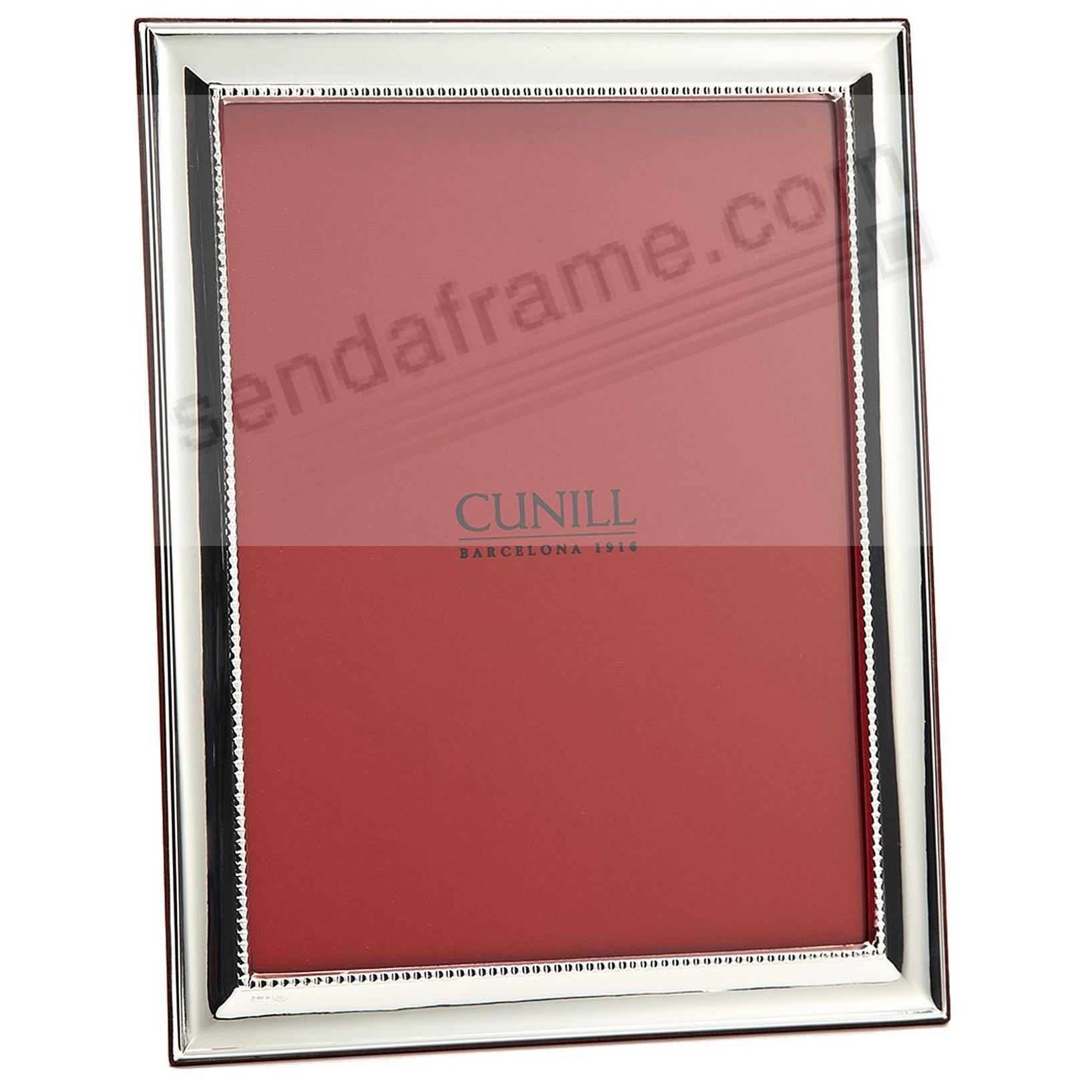 GROOVE II Fine Sterling Silver frame by Cunill®