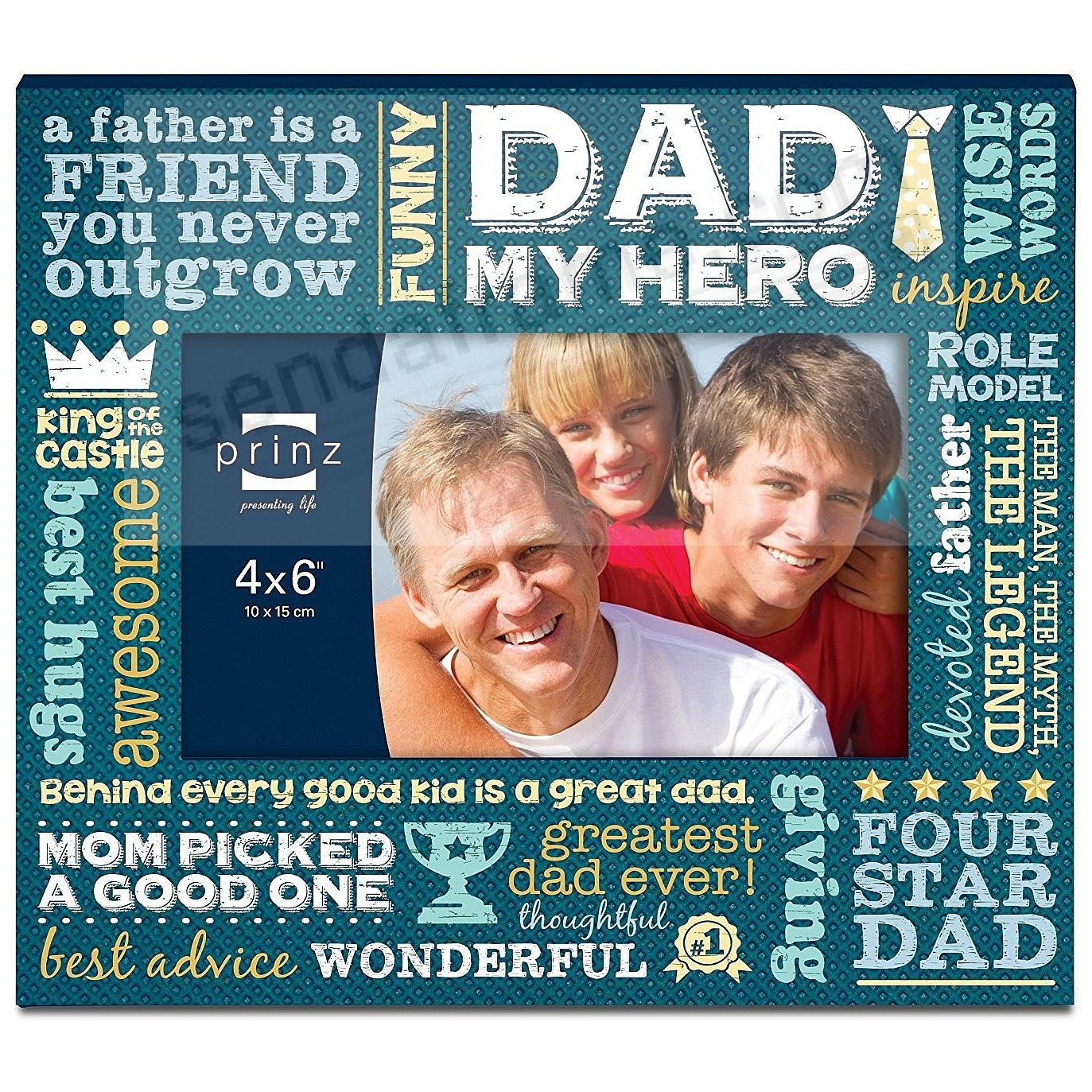 MORE THAN WORDS - DAD - Wood Frame by Prinz®