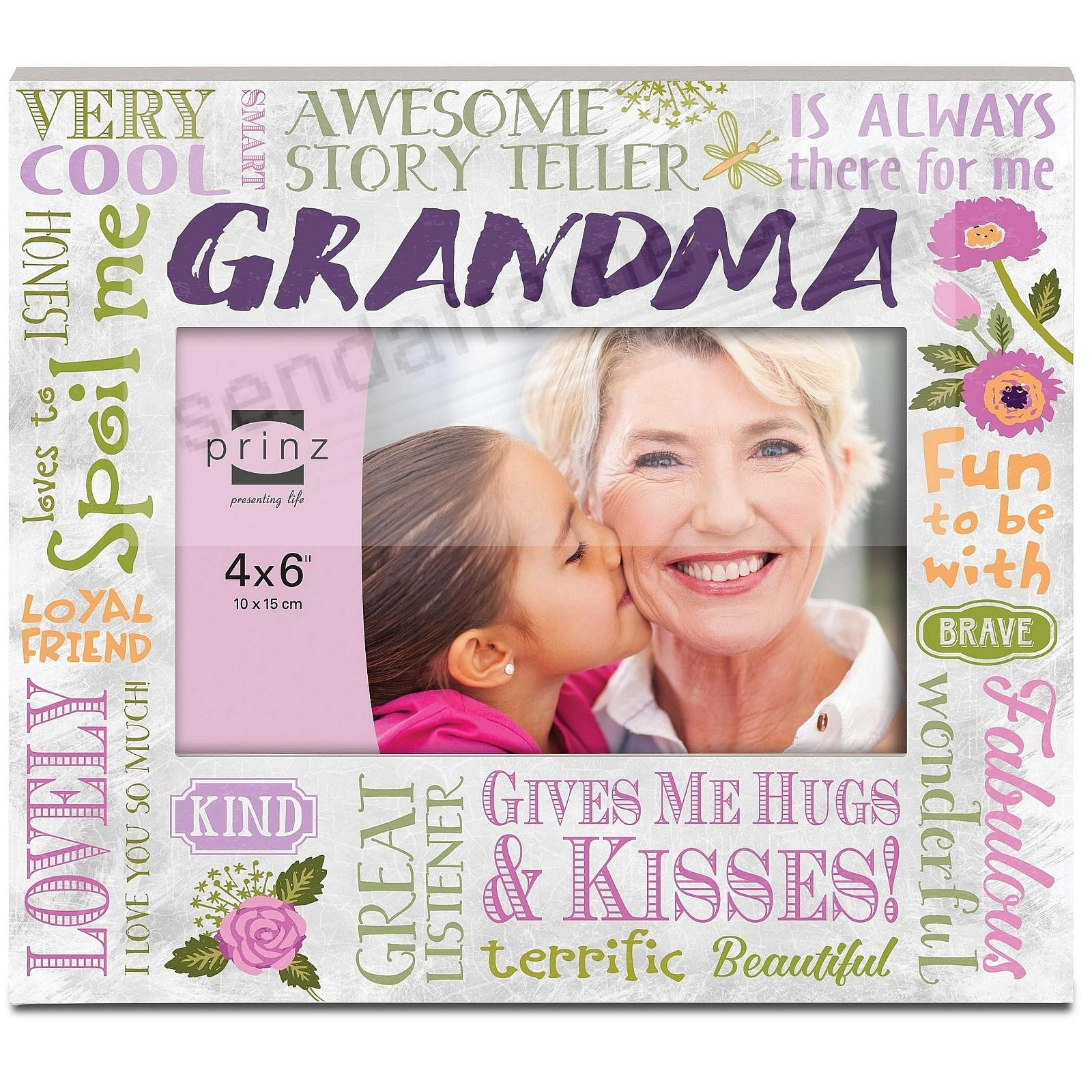 MORE THAN WORDS - GRANDMA - Wood Frame by Prinz®