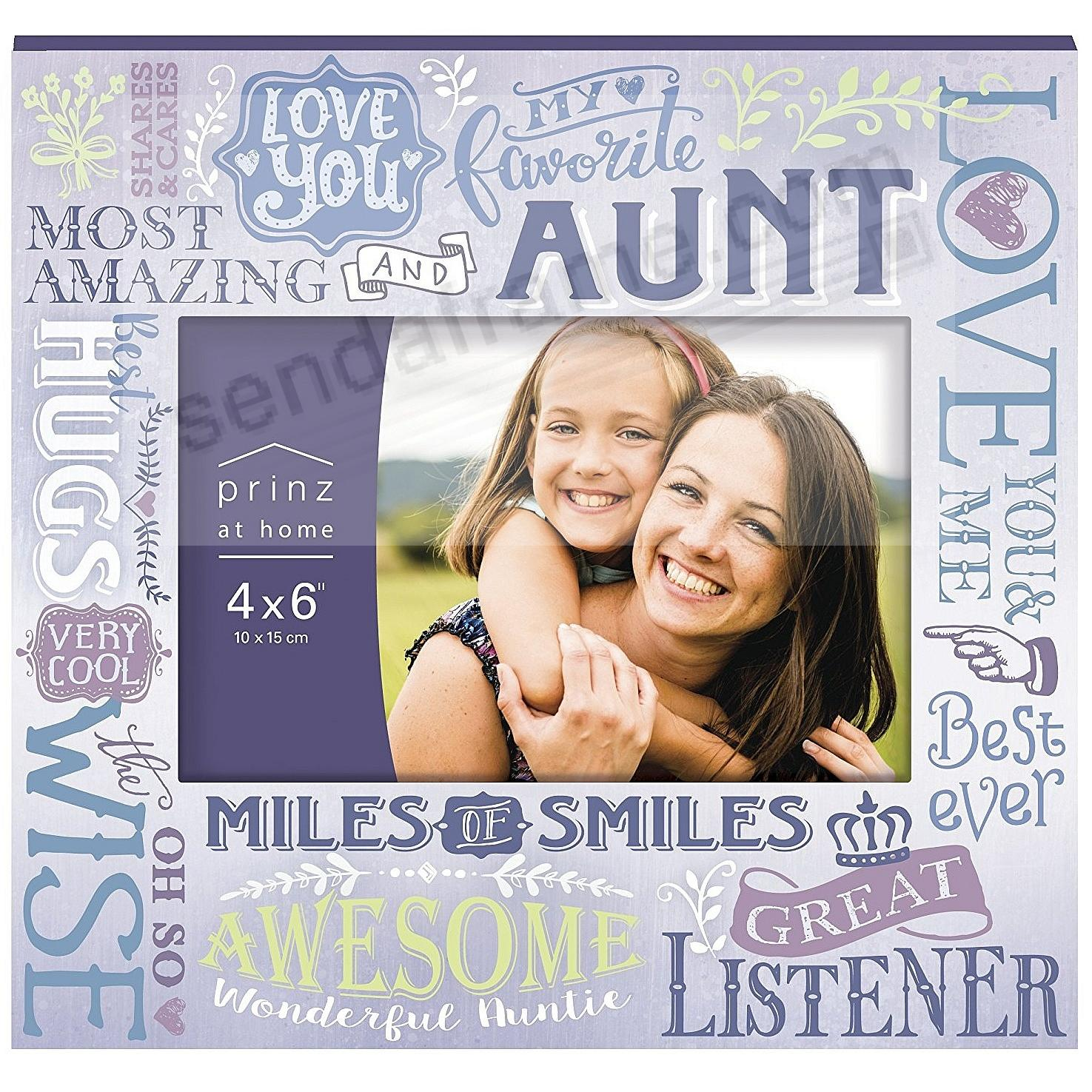 MORE THAN WORDS - AUNT - Wood Frame by Prinz® - Picture Frames ...