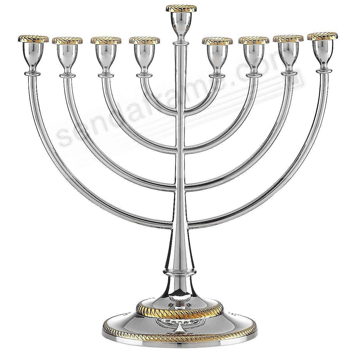The ROSELAND MENORAH by Reed and Barton®