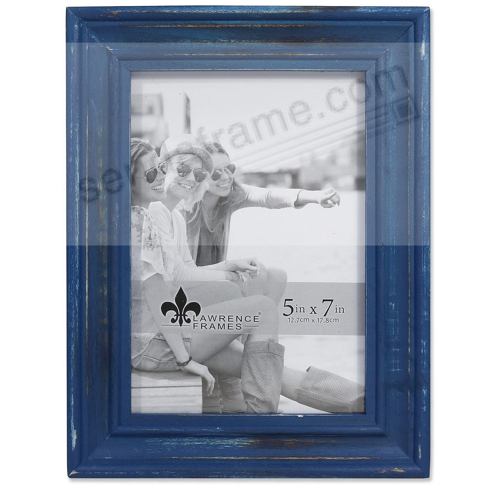 Weathered DURHAM NAVY WOOD frame by Lawrence®