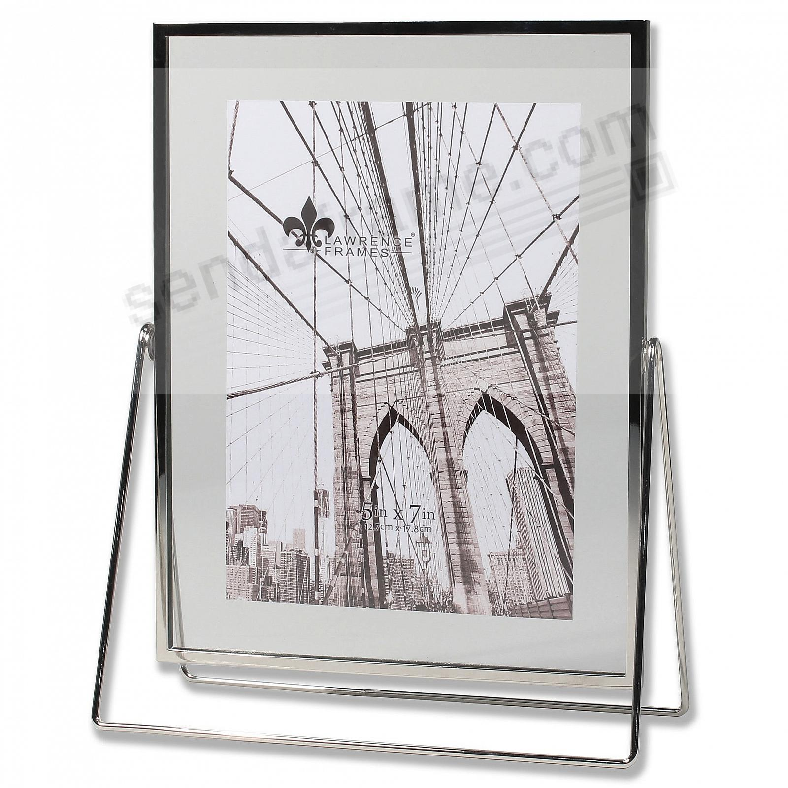 HARLAND SILVER + Glass Float Frame 7x9/5x7