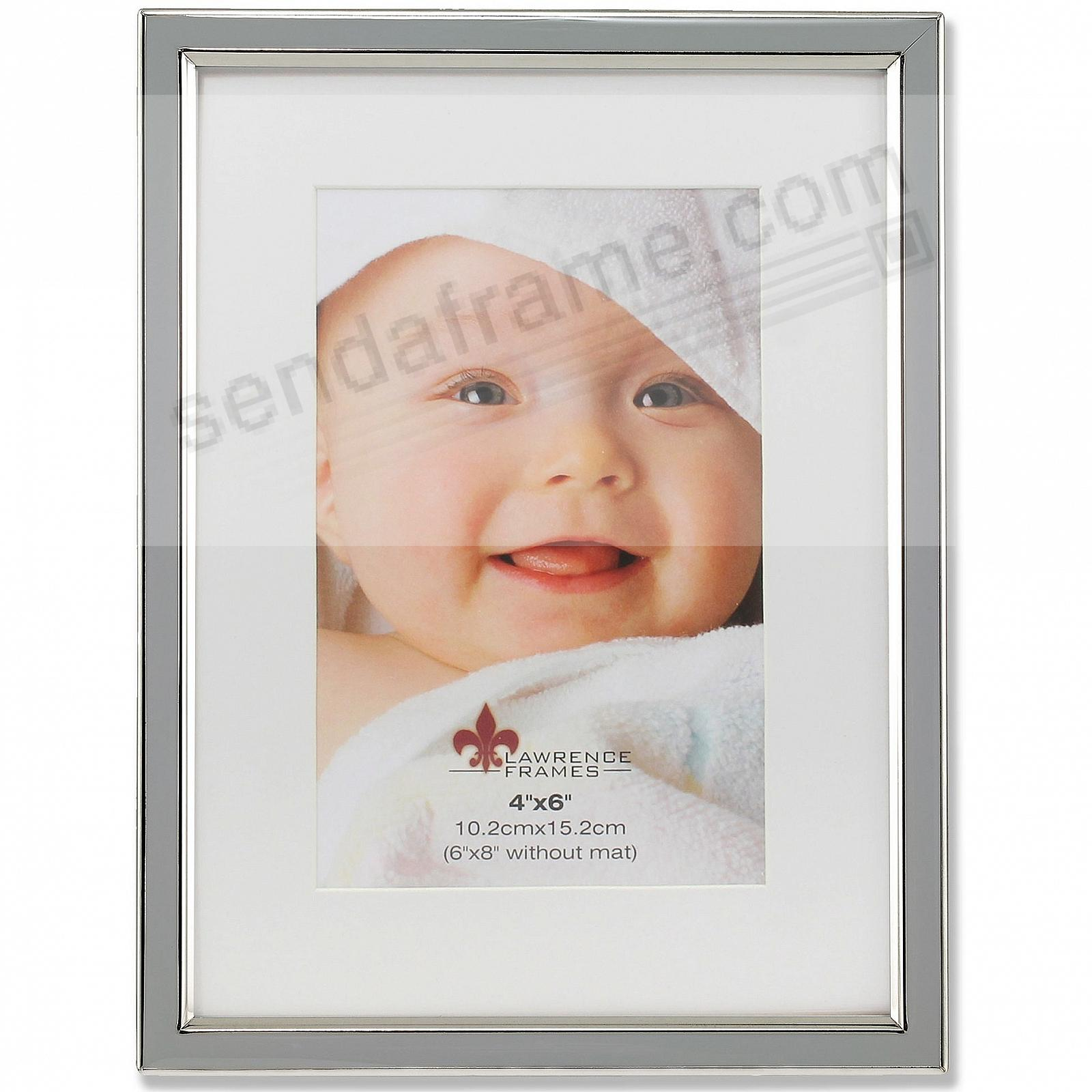 Matted gray enamel 6x84x6 frame by lawrence picture frames matted gray enamel 6x84x6 frame by lawrence jeuxipadfo Image collections