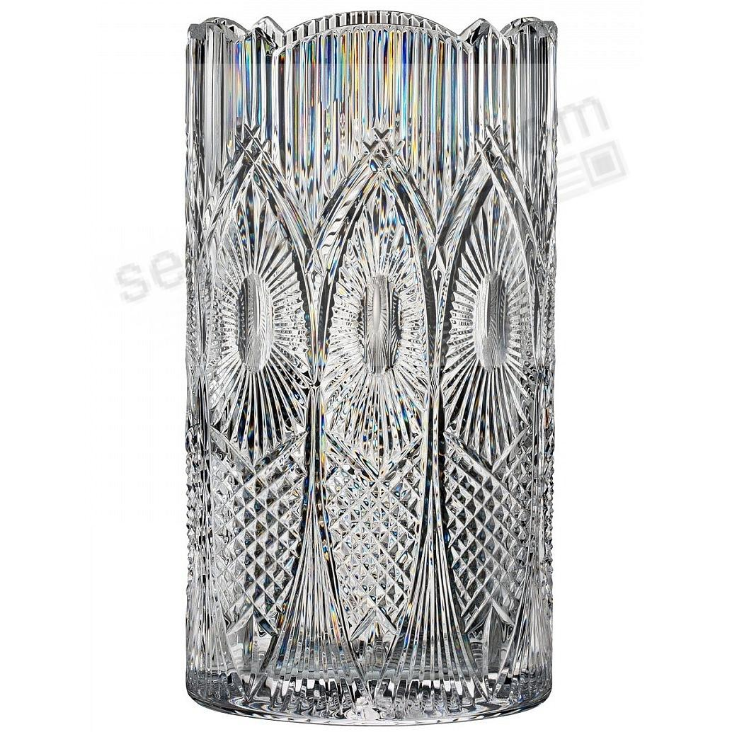 House of Waterford® Crystal Dungarvan Abbeyside 14in Oval Vase -Limited Edition of 400