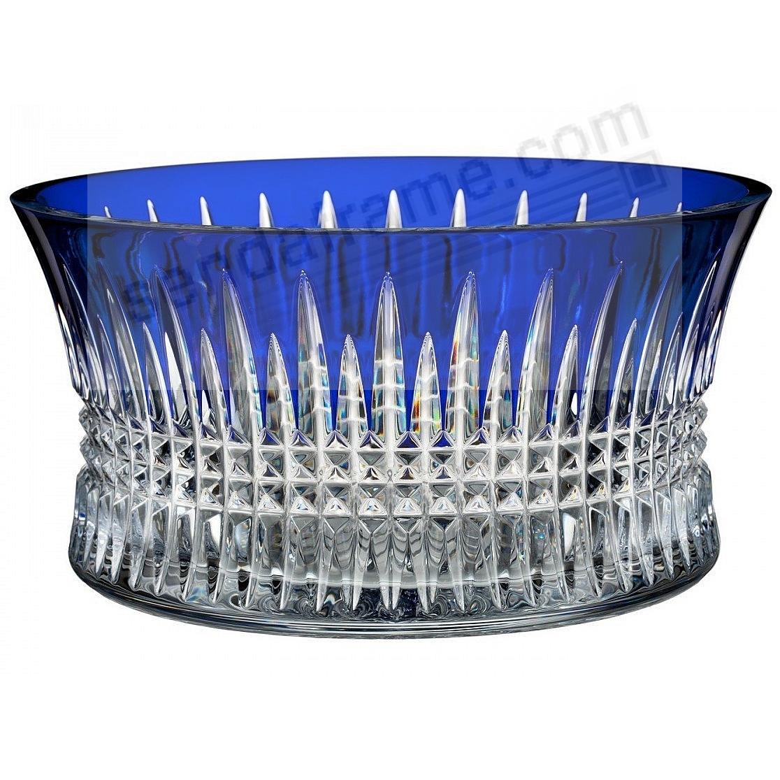 The Original LISMORE DIAMOND COBALT 10in Bowl (LG) by Waterford®