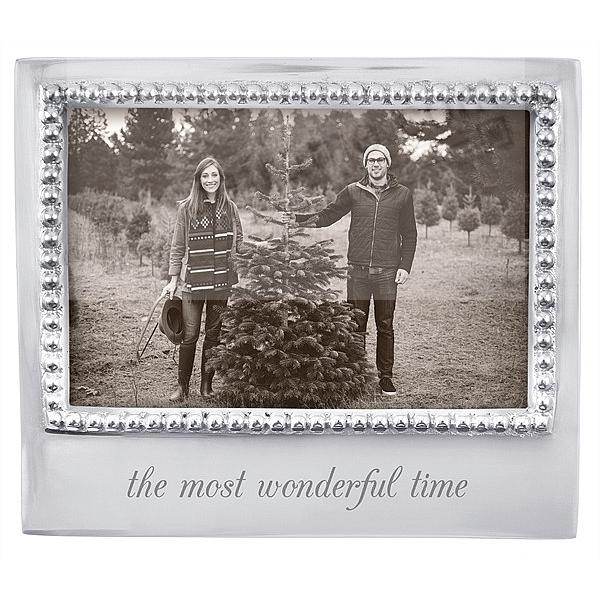 The Most Wonderful Time Statement 6x4 Frame By Mariposa Picture