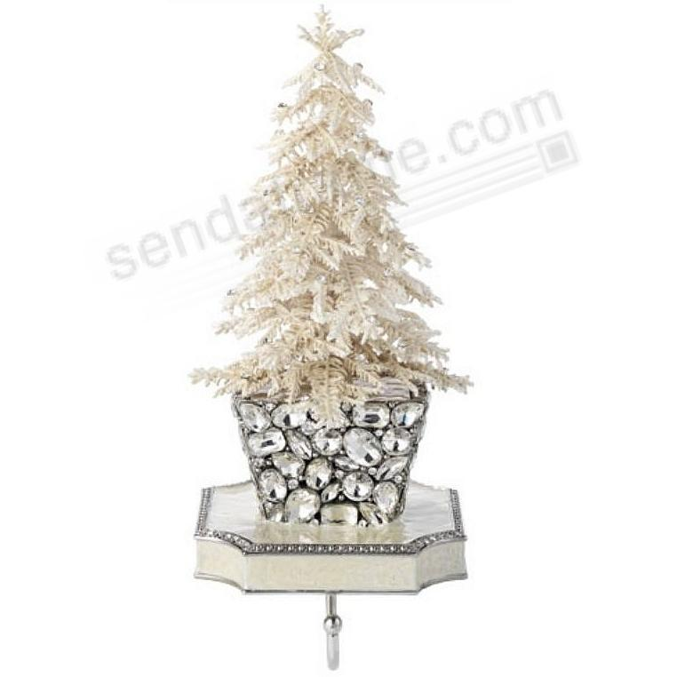 Flocked Crystal Tree Stocking Holder By Olivia Riegel Picture
