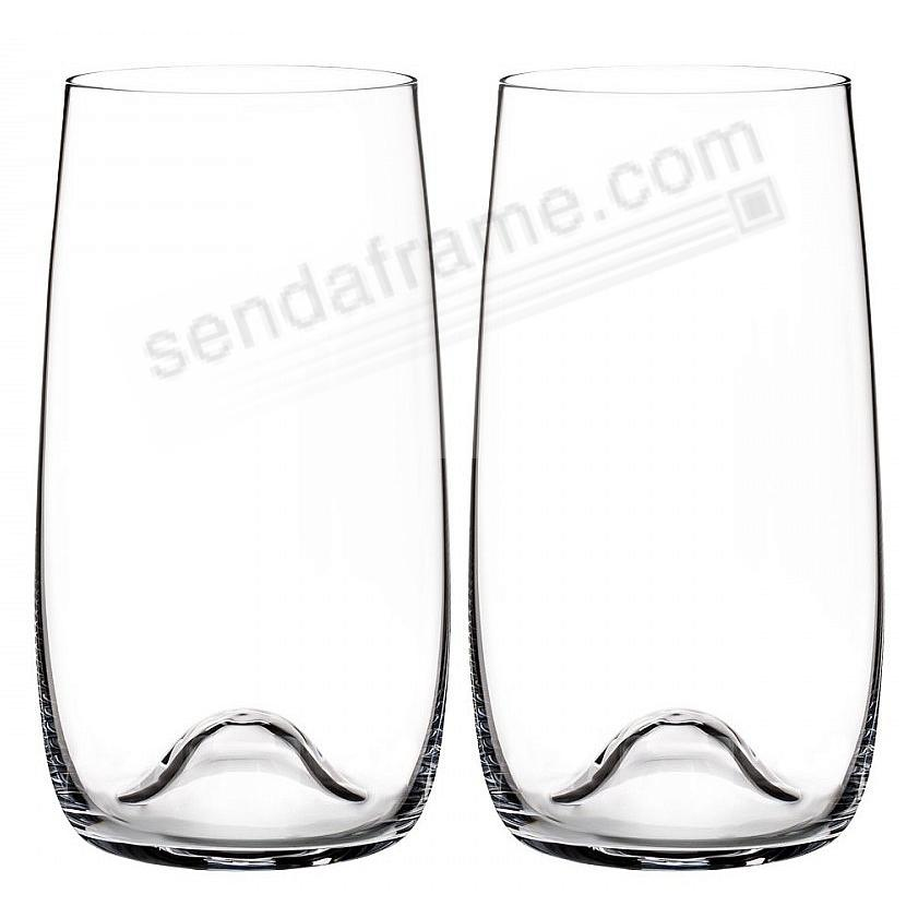 ELEGANCE Long Drinks Style by Waterford® (set of 2)