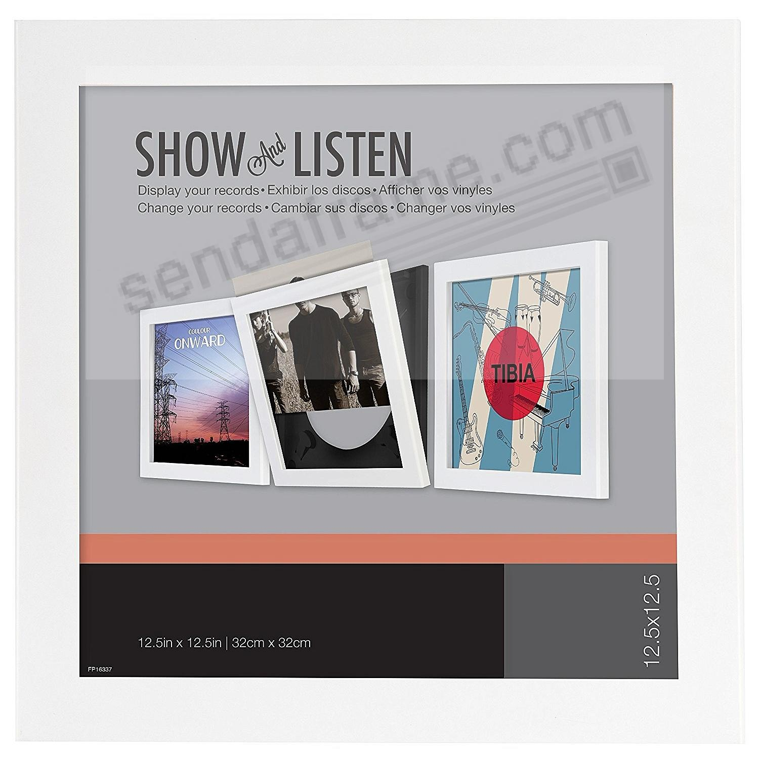SHOW AND LISTEN Vinyl Record frame by SNAP™