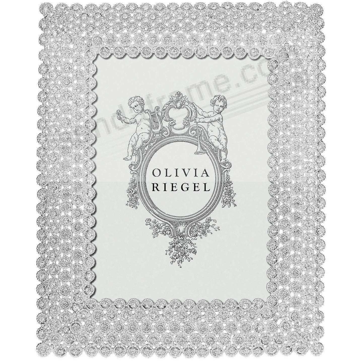 alexis silver austrian crystal 5x7 frameolivia riegel® - picture