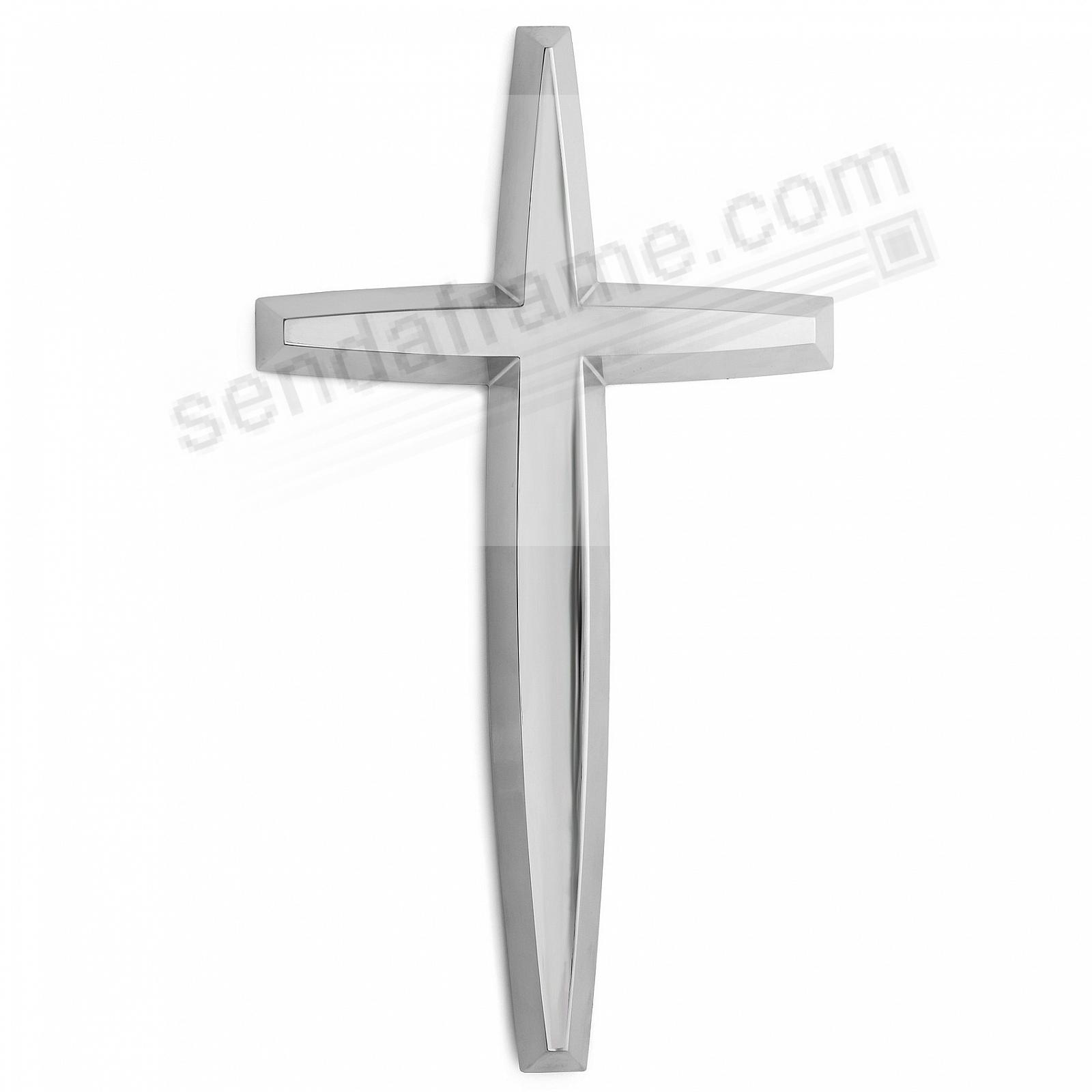 HOLY WALL CROSS crafted by Nambe®
