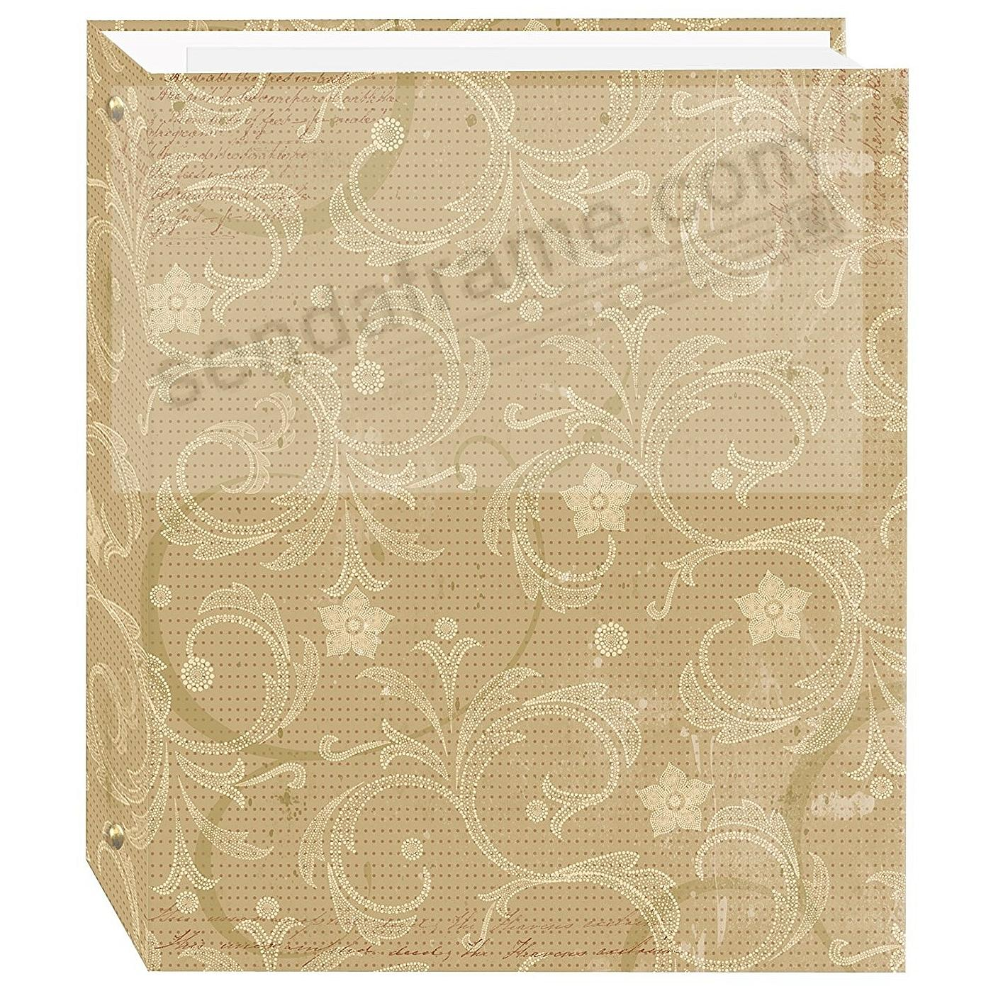 JASMINE Design 3-ring album<br>w/EZ-stick magnetic pages