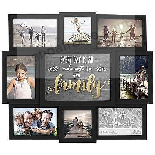 EVERY DAY IS AN ADVENTURE WITH FAMILY Collage by Malden®