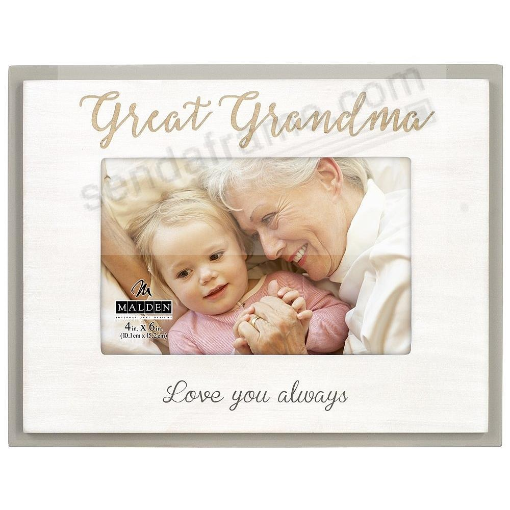 GREAT GRANDMA Love You Always keepsake frame - Picture Frames, Photo ...
