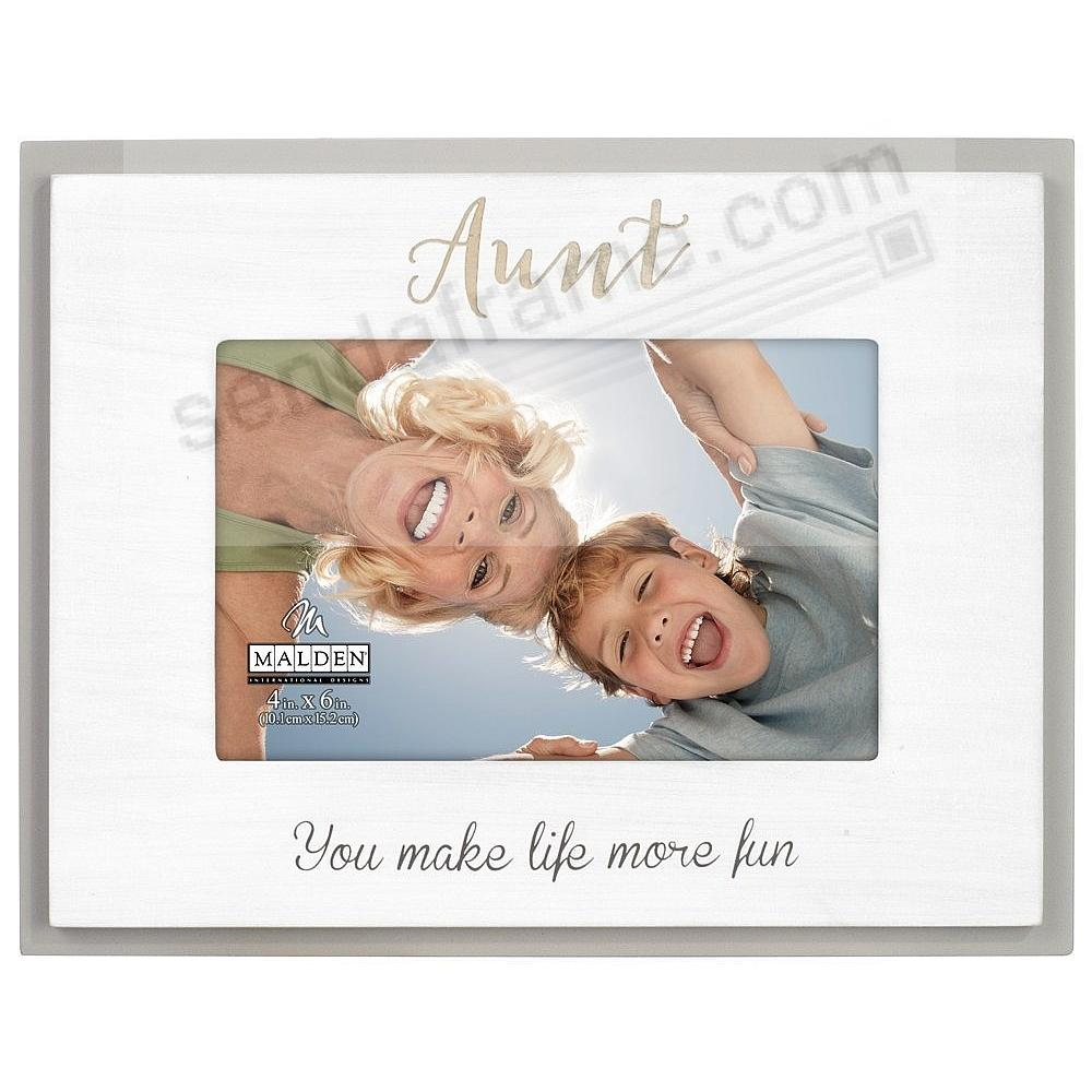 AUNT You Make Life More Fun keepsake frame - Picture Frames, Photo ...