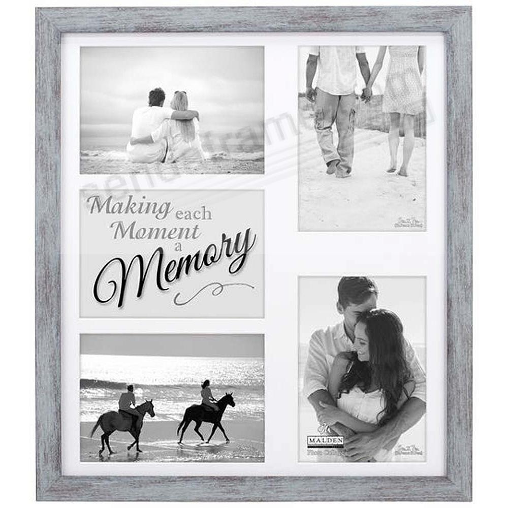 MEMORY COLLAGE displays (4-5) 4x6 photos by Malden® - Picture Frames ...