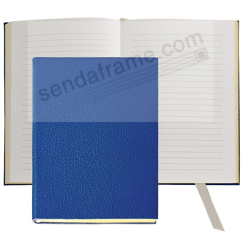 The MILLENNIAL JOURNAL Pebble Grain Cobalt-Blue Leather by Graphic Image™