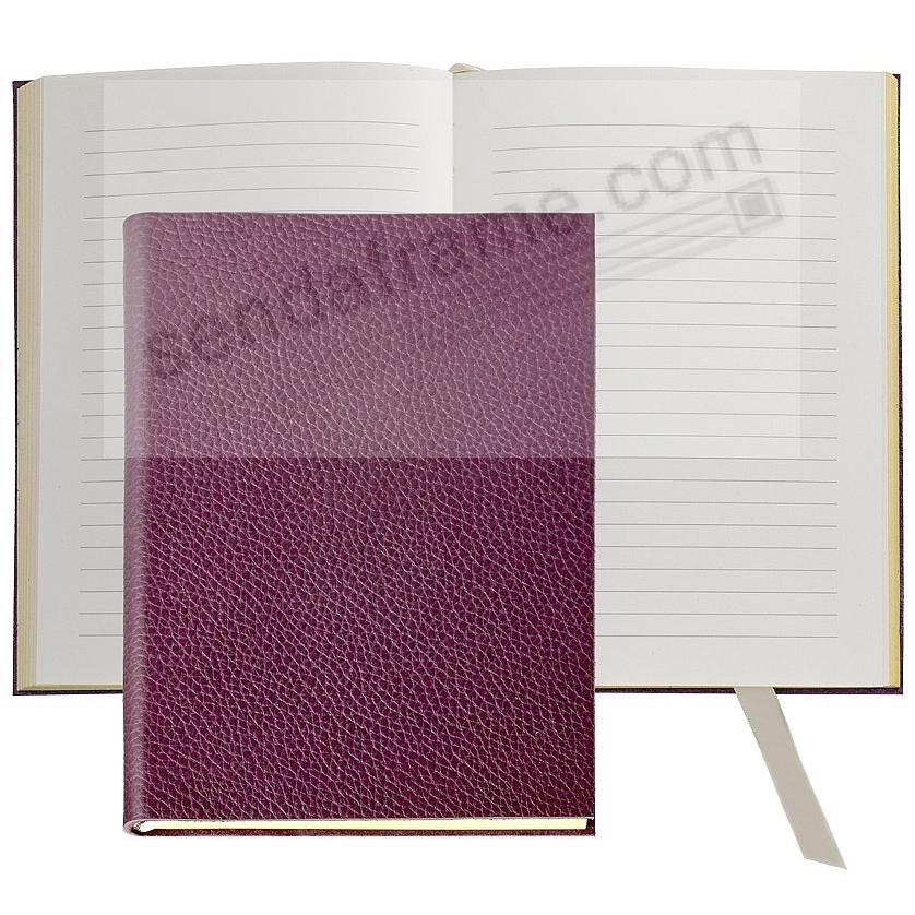 The MILLENNIAL JOURNAL Pebble-Grain Wine Leather by Graphic Image™
