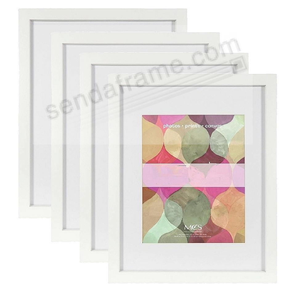 Art Shadow-Box 1-3/8in depth White Wood 30x40 frame by MCS® - Sold ...