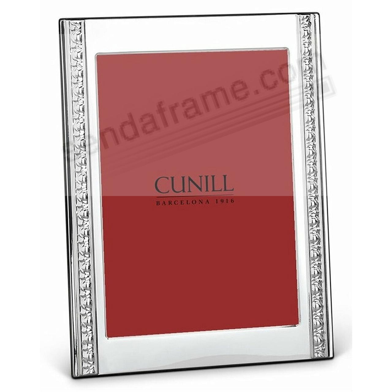 RENAISSANCE Fine Sterling Silver 5x7 Frame by Cunill®