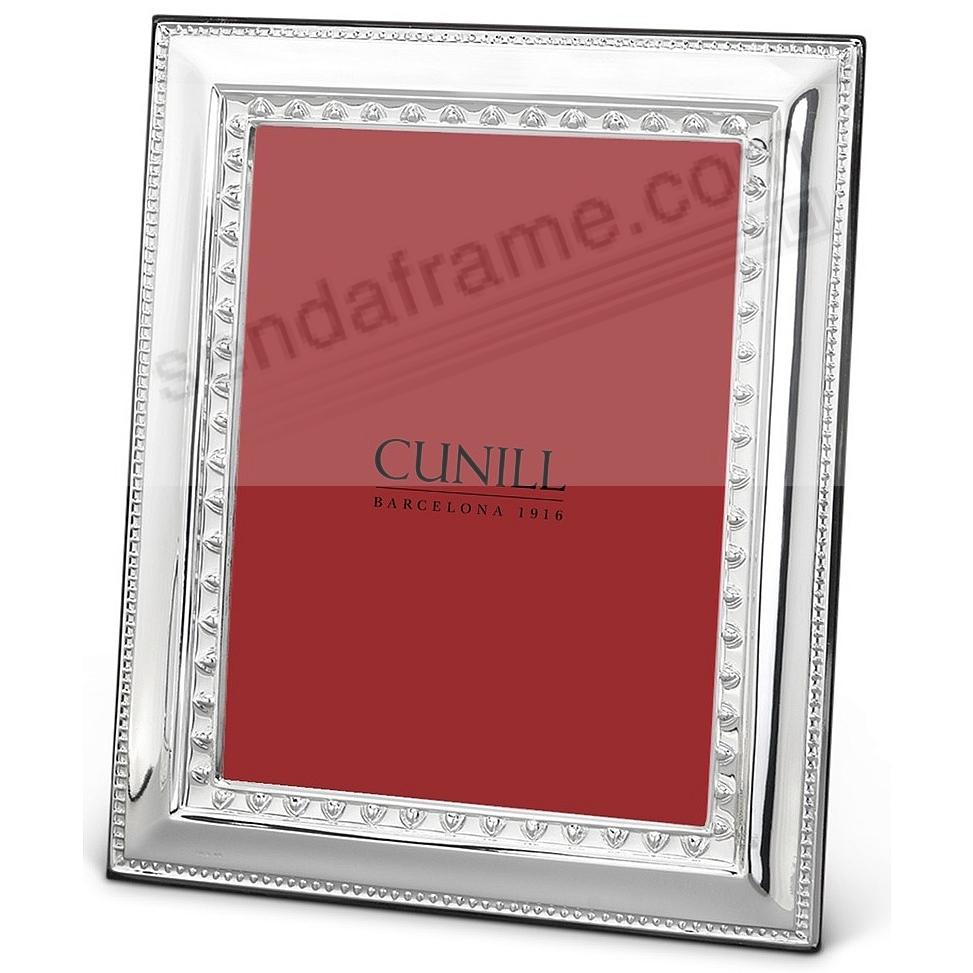 Fine .925 Sterling Silver IMPERIAL 5x7 frame<br>by Cunill&reg;