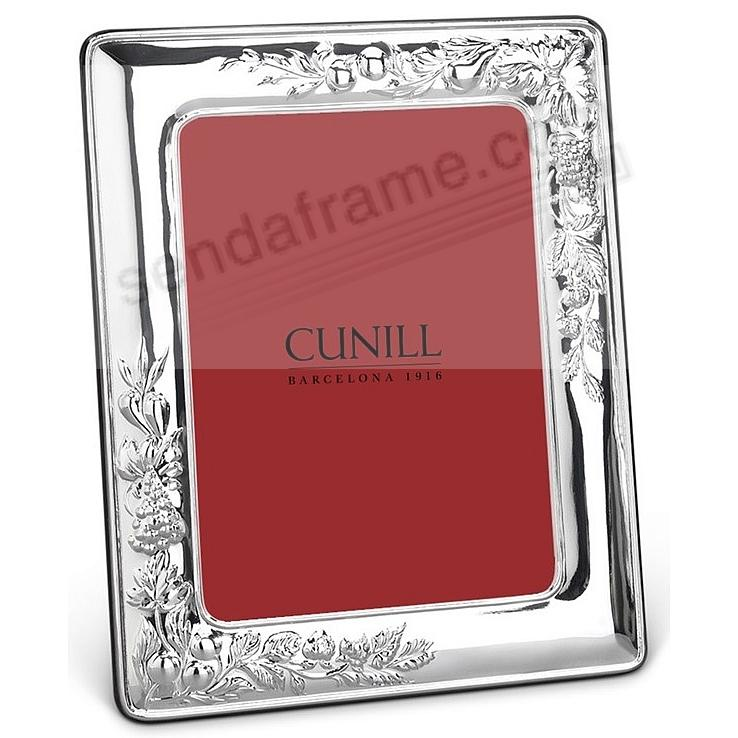 VINEYARD pure Sterling Silver luxe 8x10/7x9 frame<br>by Cunill&reg;