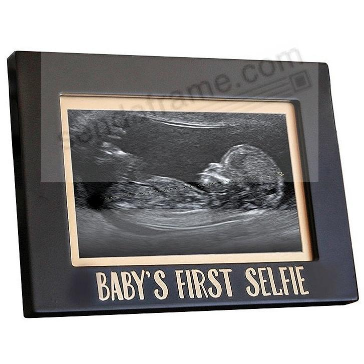 BABYS FIRST SELFIE Pearhead® / Babyprints® Sonogram Frame