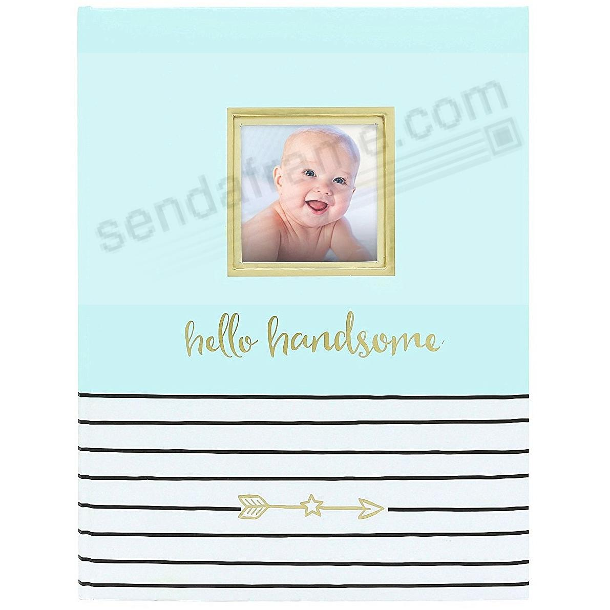 HELLO HANDSOME BABY MEMORY BOOK by PEARHEAD®