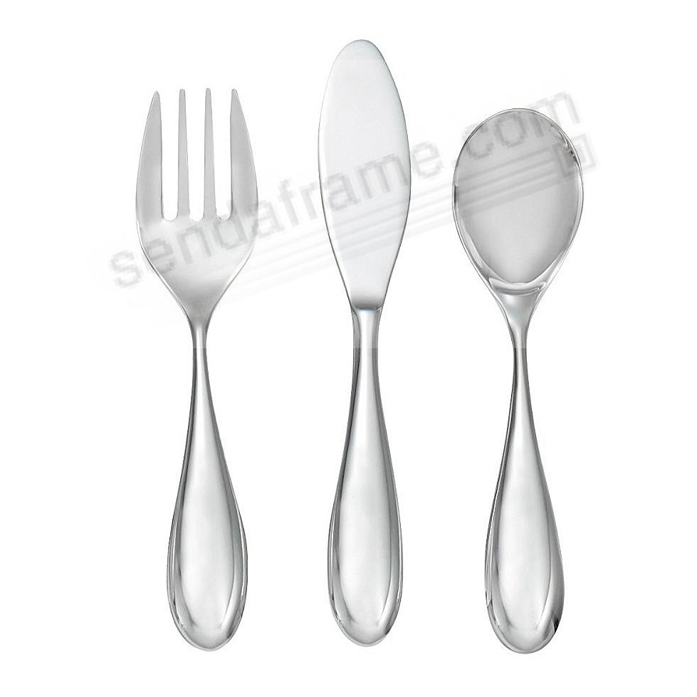 The Original KIBO TODDLER UTENSIL SET by Nambe®