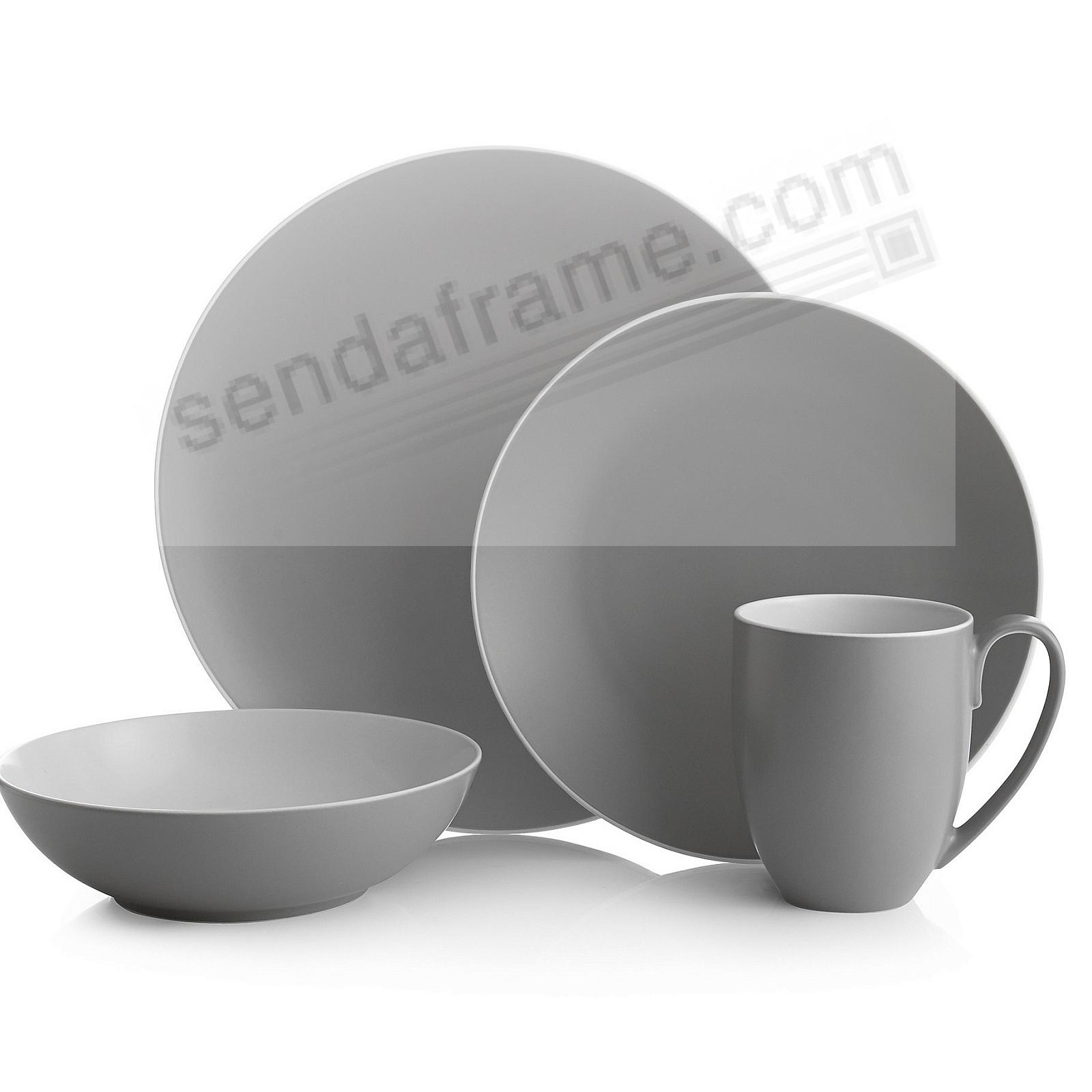POP 4PC Place Setting SLATE-GREY by Nambe®