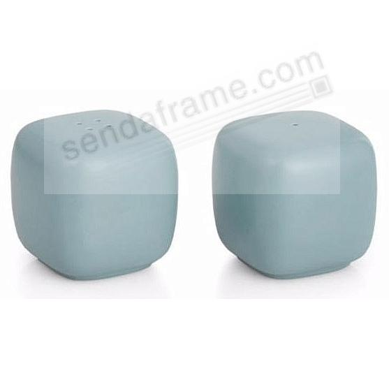 POP SALT + PEPPER SHAKERS OCEAN-BLUE by Nambe®